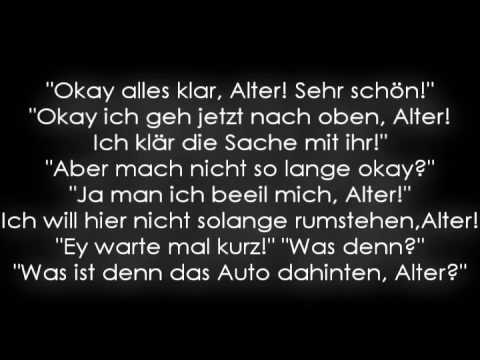 Bushido fler dreckst ck lyrics youtube for Zitate bushido
