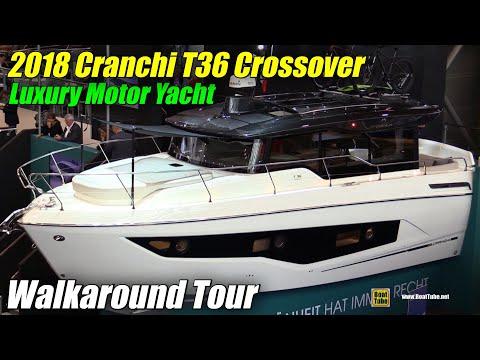 2018 Cranchi T36 Crosover Yacht - Walkaround - 2018 Boot Dusseldorf Boat Show