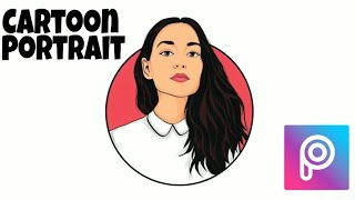 Cartoon Portrait Logo || Picsart Tutorial