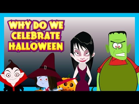 Why Do We Celebrate HALLOWEEN - English Story For Kids || Halloween Story For Kids - Halloween 2016