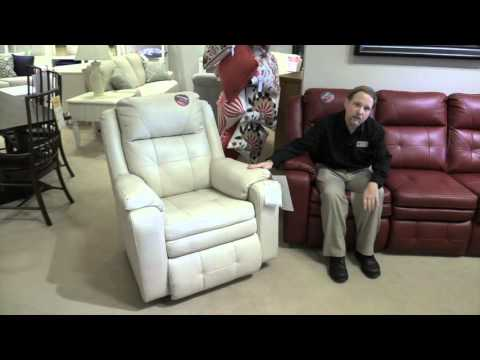 Leather Sofa with 2 Recliners and Loveseat Recliners Pinellas Park FL Hudson's Furniture