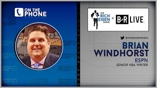 ESPN's Brian Windhorst Talks Anthony Davis to Lakers Trade w/Rich Eisen | Full Interview | 6/17/19