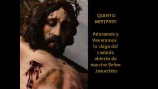 Rosario o Coronilla de las llagas de Jesús Padre Moises Lárraga ( con subtitulos )