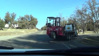 California Trip to Mariposa Co Part 1 Jan 8 2014