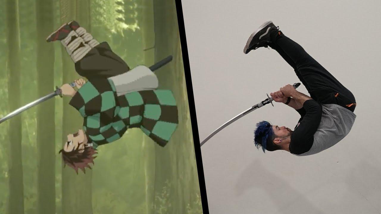 Download Stunts From Demon Slayer In Real Life (Kimetsu No Yaiba)
