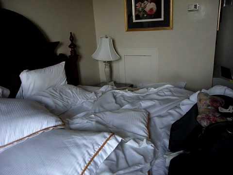 Messy But Luxurious Room At Hotel Bothwell Sedalia MO