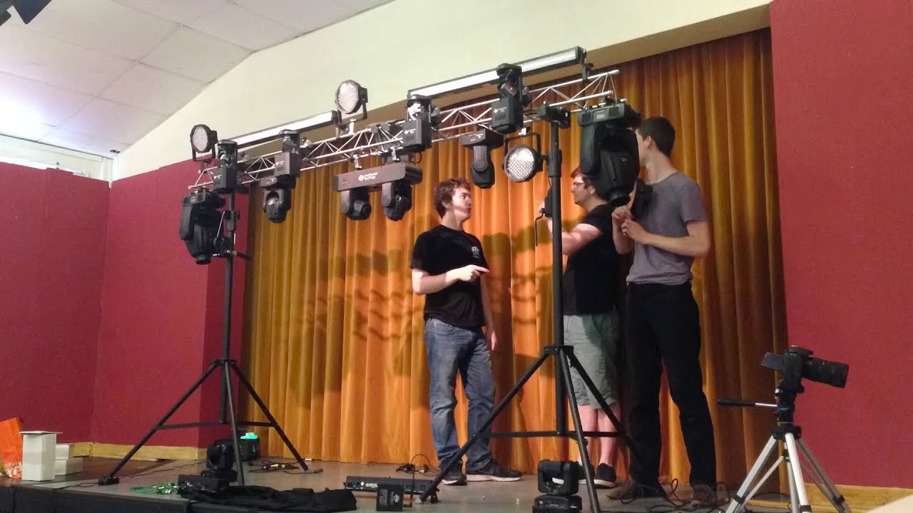 Download Vlog | Filming ADJ WiFly NE1, MyDMX 2.0 and Inno Spot Pros!