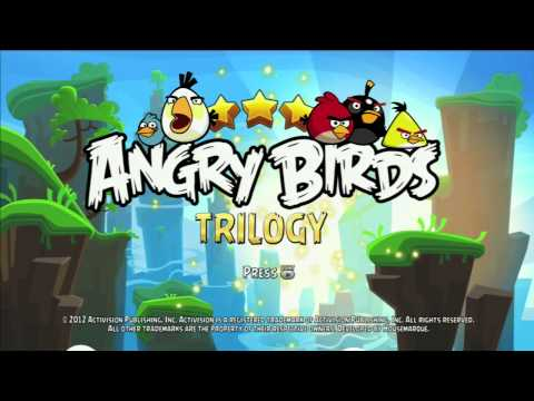 Angry Birds Trilogy Title Screen (PS3, 360)