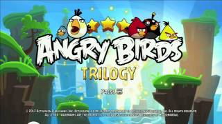 Angry Birds Trilogy Title Screen (PS3, 360, Wii, Wii U)
