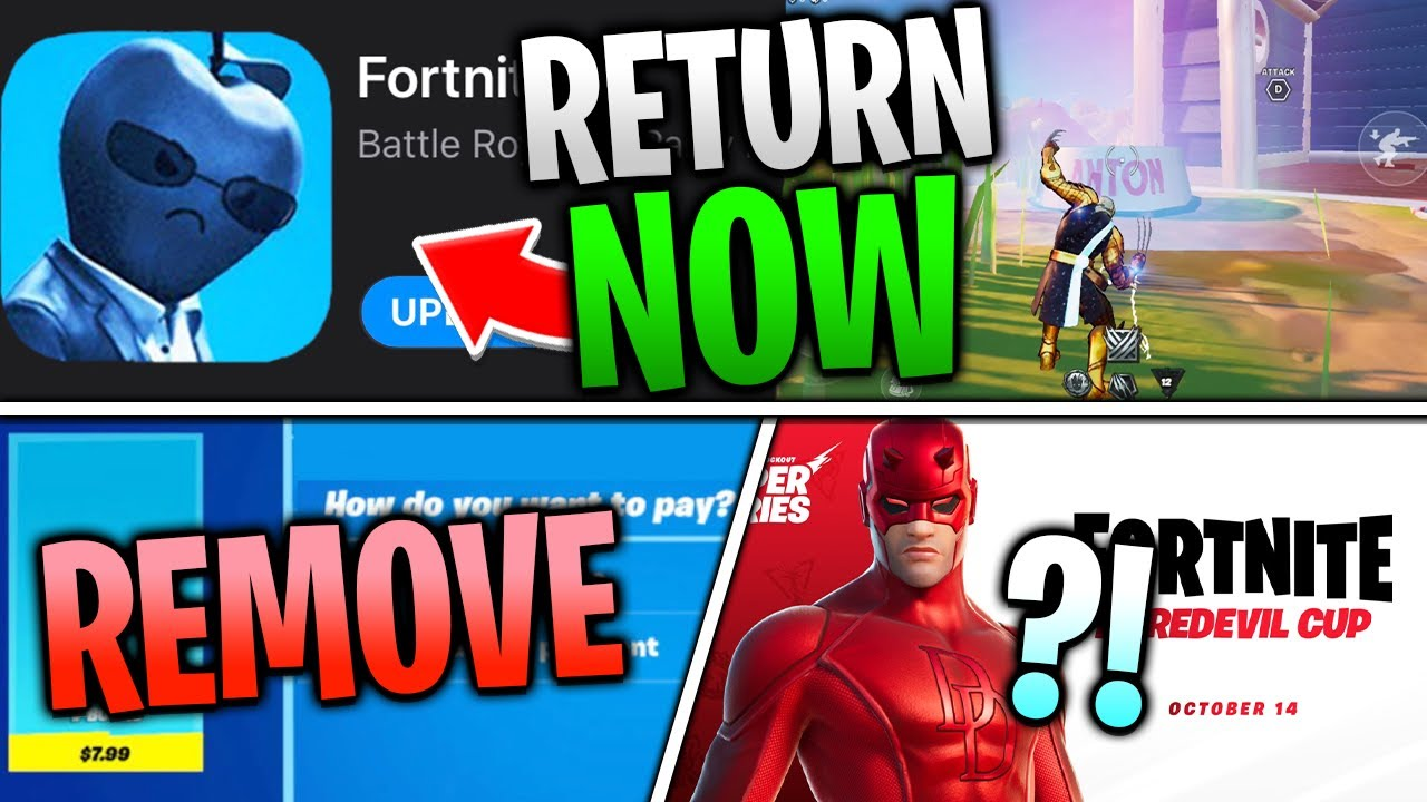 Fortnite Mobile Will Return NOW if Epic does this.. Judge is SAVING Mobile?! Direct Payment REMOVAL?