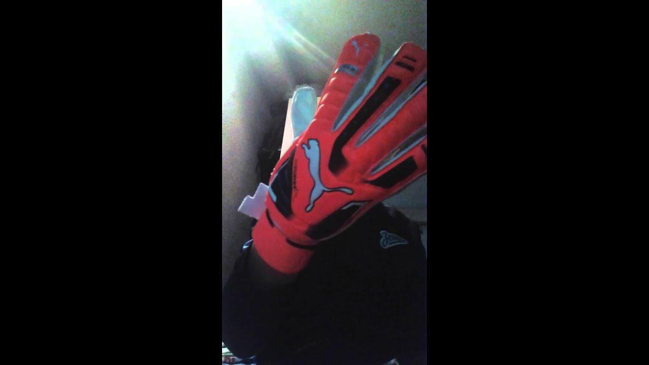 Обзор Перчатки вратарские Puma Protect Train Junior Goalkeeper .