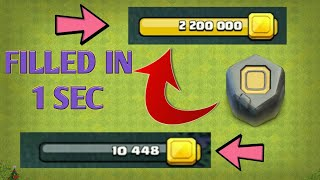 FULL YOUR STORAGES FREE IN JUST 1 SEC IN CLASH OF CLANS | HOW TO USE RUNES [ HINDI ]