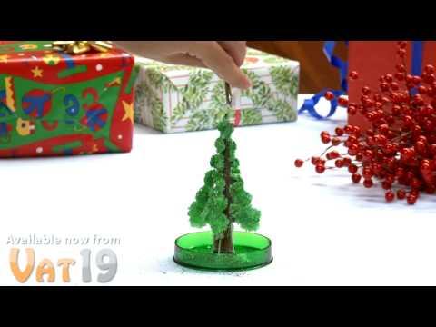 Mini Magical Growing Christmas Tree - YouTube