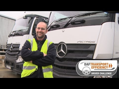 DAF Transport Efficiency Driver Challenge - Meet the Finalists: David Sandle