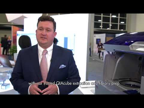 AMP 2017 QIAGEN booth tour with Brad Banks