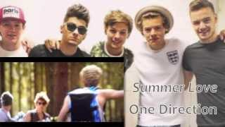 Summer Love One Direction 和訳 日本語字幕