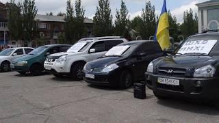 Олег Ляшко на митинге в Северодонецке