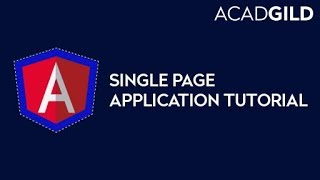 What is Single Page Application | Single Page Application Tutorial | Angular 2 Tutorial