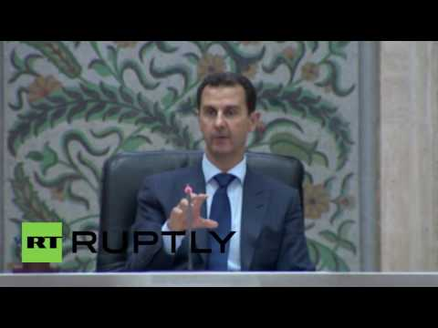 Syria: New Syrian government sworn in by President Assad