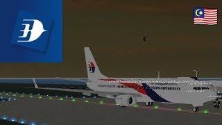 LES AFFAIRES ET LES ENTREPRISES Malaysia Airlines - Boeing 737 ( Roblox