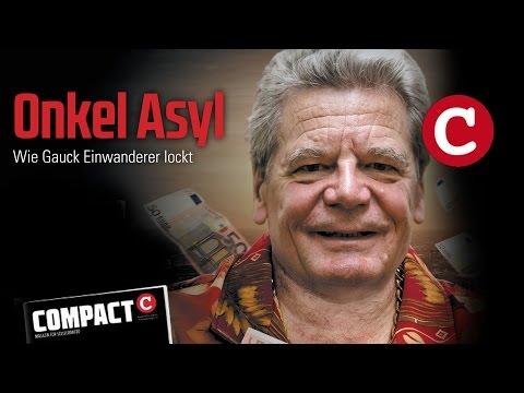 COMPACT 4/2015 - Onkel Asyl: Wie Gauck Einwanderer lockt
