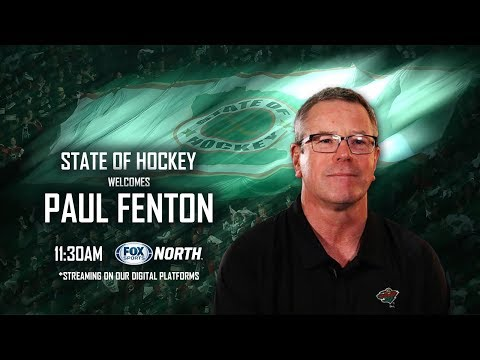 Minnesota Wild GM Paul Fenton Introductory Press Conference