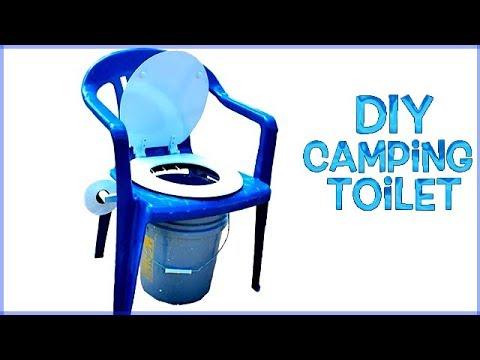 Diy Homemade Camping Toilet Comfort Balance Too