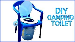 DIY Homemade Camping Toilet - Comfort & Balance Too!