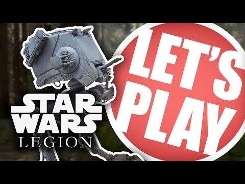 Let's Play: Star Wars Legion - 800 Point Upgrade Battle