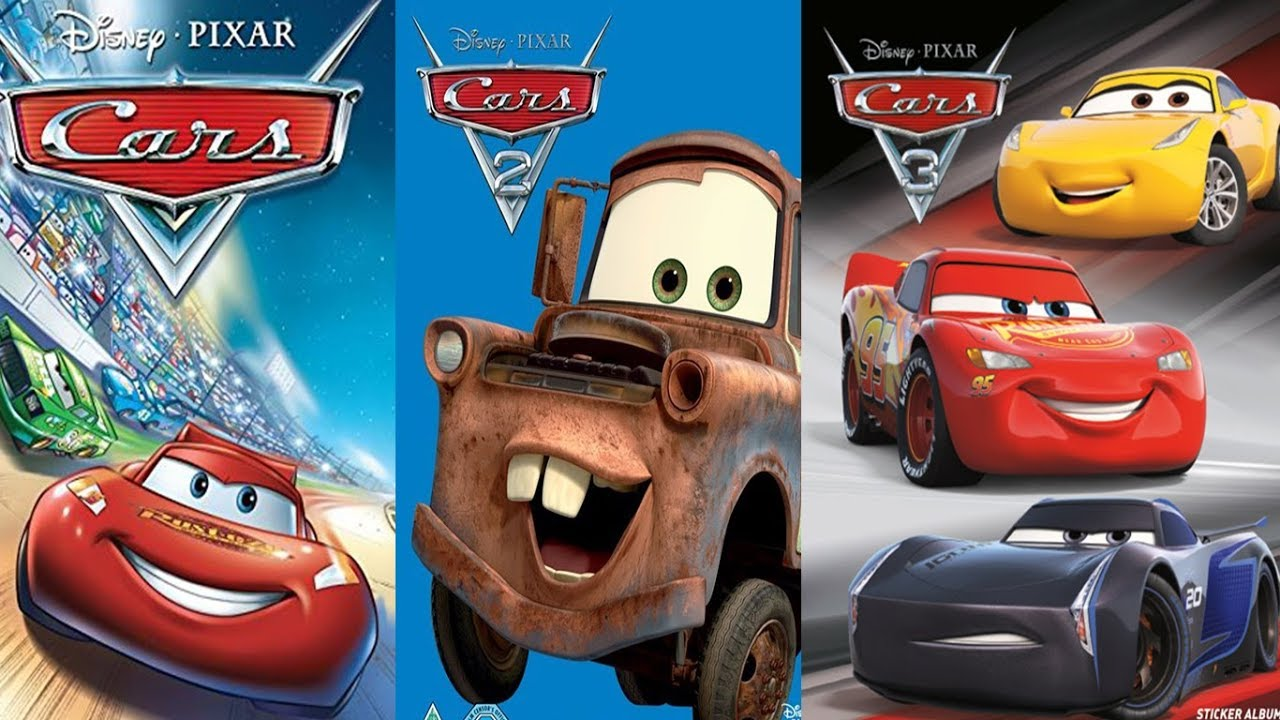 Cars 1 Cars 2 Cars 3 All Characters In Real Life Youtube