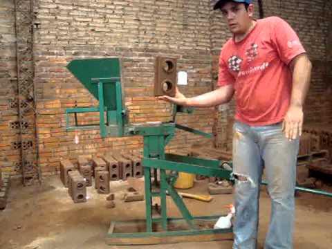 Ladrillos ecologicos en paraguay youtube - Tipos de ladrillos ...