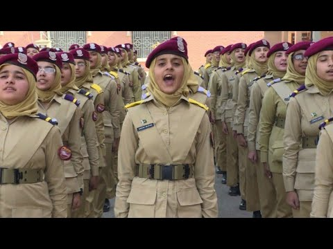 Pakistan's Girl Cadets Dream Of Taking Power | AFP