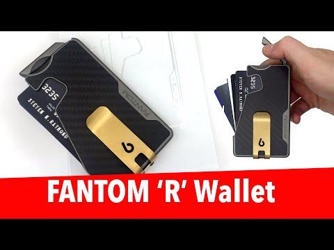 Carbon Fiber FANTOM R Wallet Review - RFID Card Holder