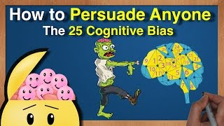 How to Persuade Anyone - The 25 Cognitive Biases by Charlie Munger