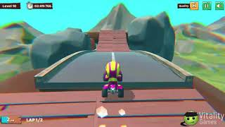 Moto Trial Racing Game Walkthrough Level 9-10