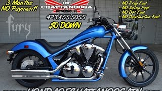 2016 Honda Fury 1300 Review of Specs - Chopper / Cruiser Motorcycle SALE @ Honda of Chattanooga