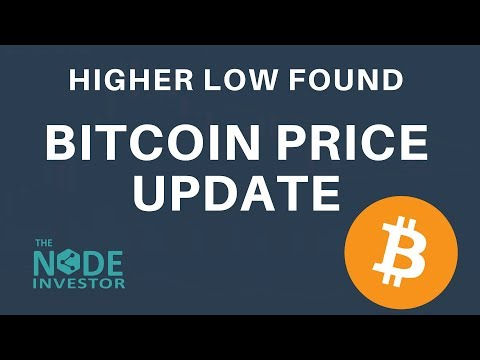 Bitcoin Price Update |  Higher Low Found - Good Price Action Near-Term