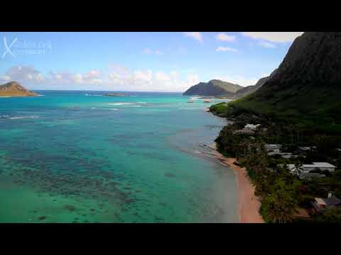 Waimanalo Hawaii 4K Mavic Air