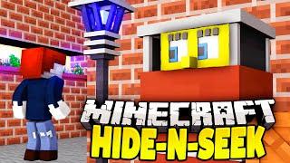 DAS BESTE VERSTECK - Minecraft SPONGEBOB HIDE AND SEEK BATTLE