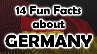 14 Fun facts about GERMANY
