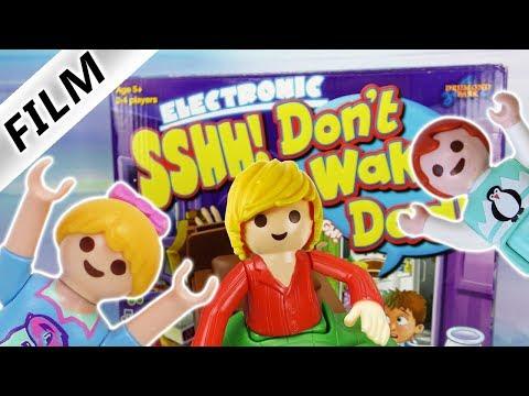 Playmobil Film Deutsch | DON'T WAKE DAD Challenge - EMMA VS HANNAH | Kinderserie Familie Vogel