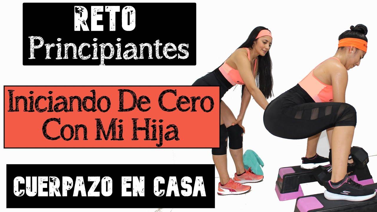 RETO #CUERPAZOencasa PRINCIPIANTES / Día Viernes / Rutina Piernas - Isquiotibiales.