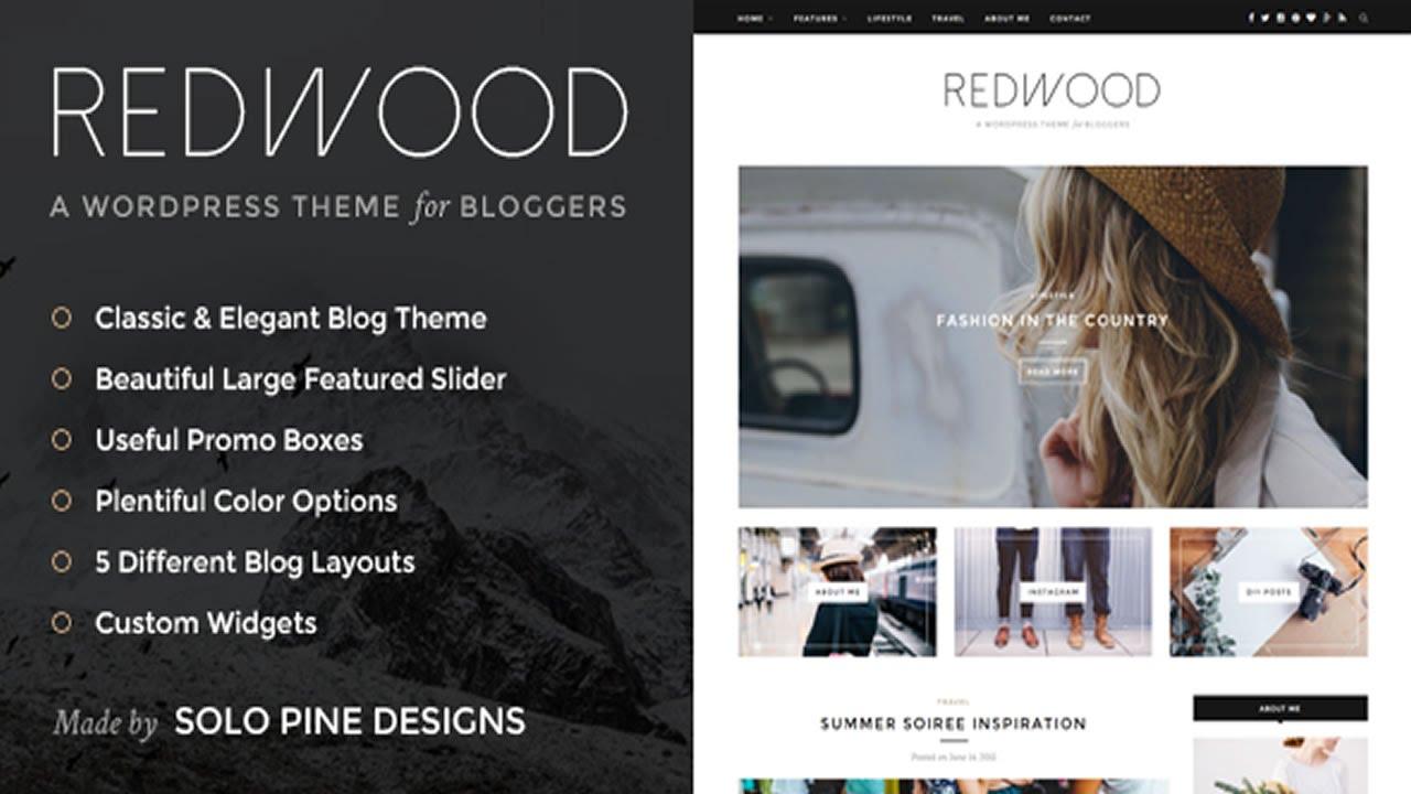 Redwood - A Responsive WordPress Blog Theme v1.2 - YouTube