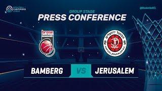 Brose Bamberg v Hapoel Bank Yahav Jerusalem - PC - Basketball Champions League 2018-19