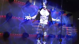 Criss Angel Hologram At Planet Hollywood In Las Vegas