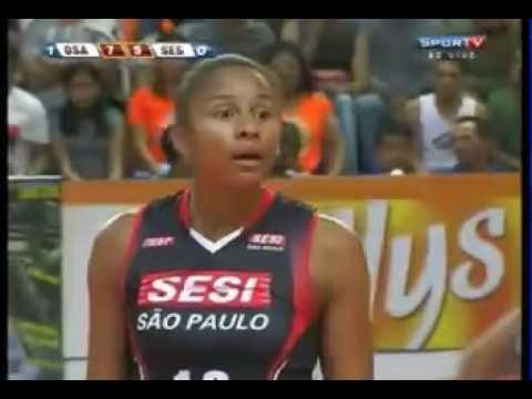 Set 2  -SESI SP x  Sollys Osasco  - Semi final/JG 02 - Campeonato Paulista 2011 - 26/11/11