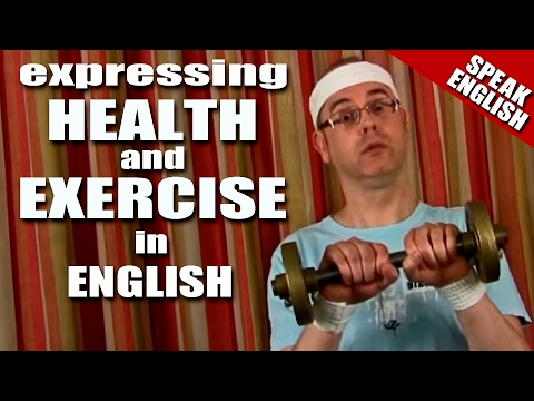 Health and Exercise - Learn English - English words for health and exercise - Stay healthy