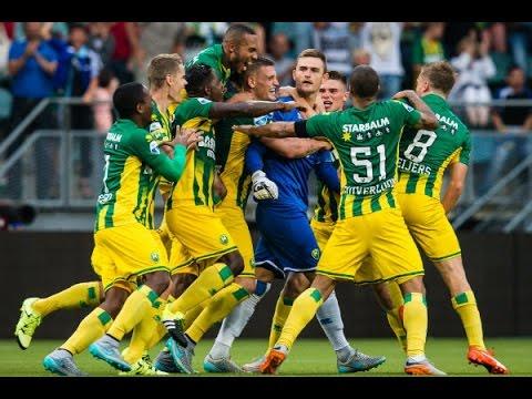 Legendarische goal Martin Hansen in blessuretijd ADO Den Haag - PSV (2-2)