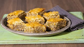 Jus Create - Baklava with Jus-Rol Filo Sheets  - Pastry Recipes from Jus-Rol