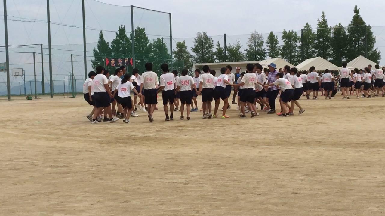 2016 五日市高校 第43回体育祭 フォークダンス ③